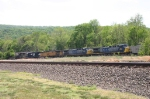 CSX 457, CSX 390, UP 7208, & NS 5611